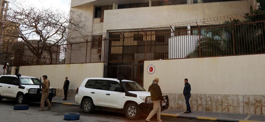 Büyükelçilikten açıklama: Türkiye Hafter'in saldırdığı Trablus'tan çıkmayacak