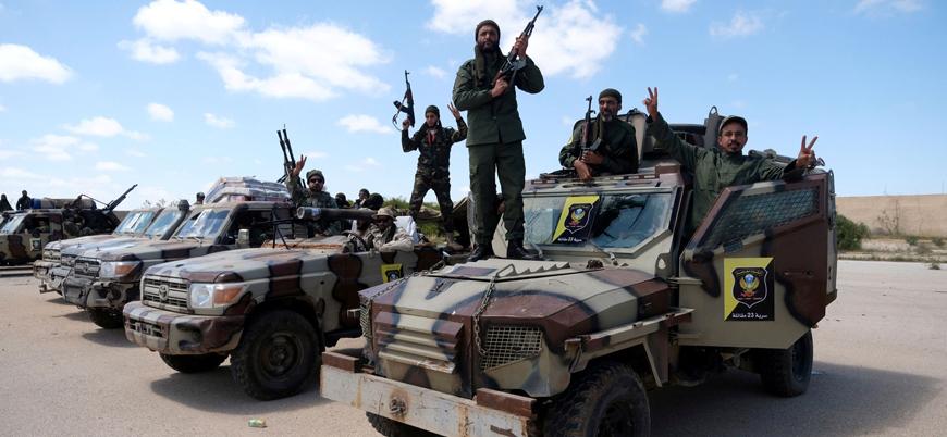 Libya'da Hafter güçleri Trablus güneyinde bir askeri kampı ele geçirdi