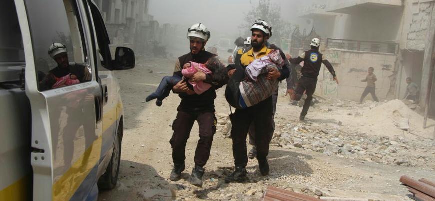 Rusya Cisr eş Şuğur'u balistik füzelerle vurdu: Çoğu çocuk onlarca yaralı