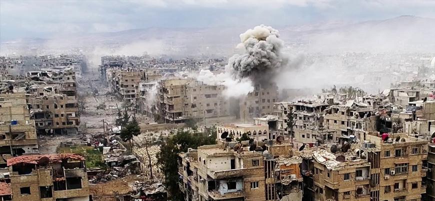 Esed rejimi Yermuk kampında 80 Filistinli çocuğu öldürdü