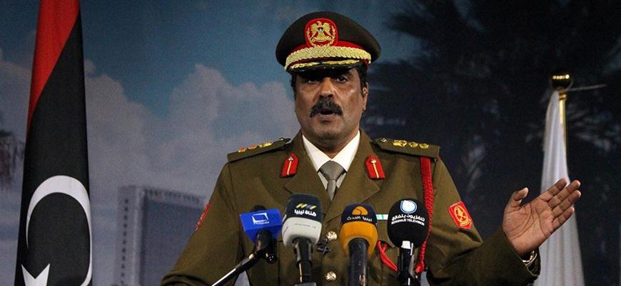 Hafter'in sözcüsünden 'Trablus'a saldırı' açıklaması