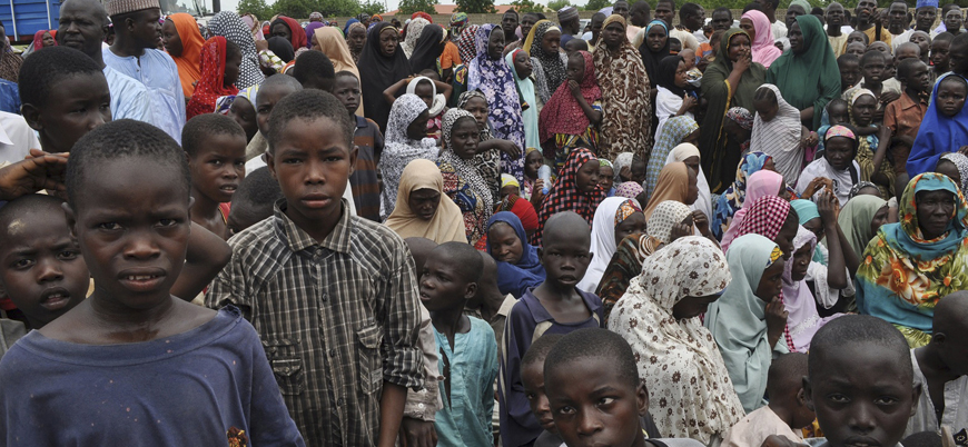 Nijerya'da 5 bin sivil Boko Haram bahanesiyle yerinden edildi
