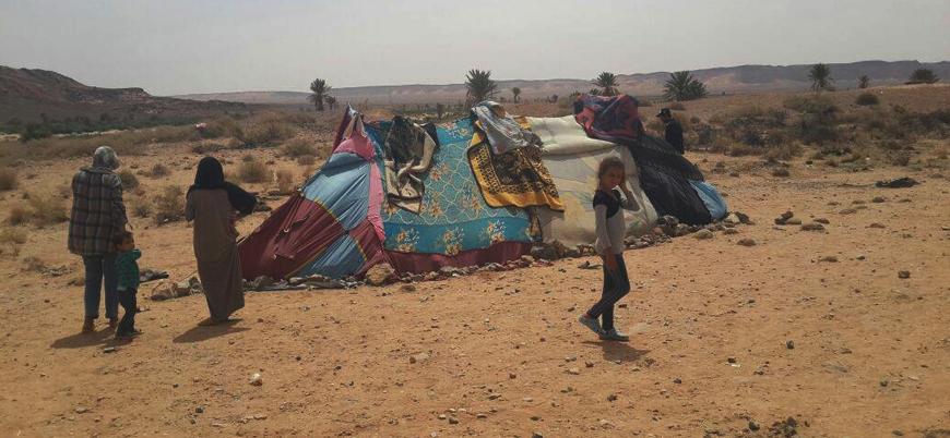 Cezayir Suriyeli mültecileri Sahra çölüne sınırdışı etti