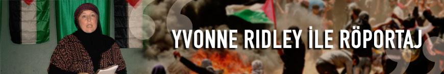Yvonne Ridley ile röportaj