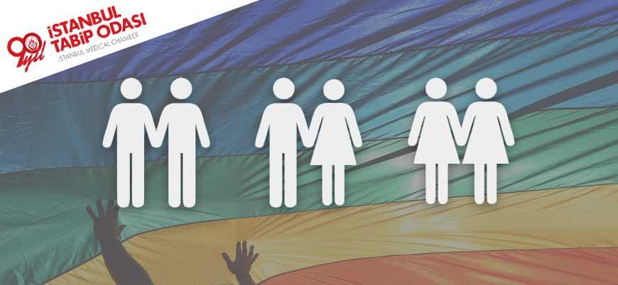 İstanbul Tabip Odası'nda eşcinsel ilişkiyi 'normalleştiren' afiş
