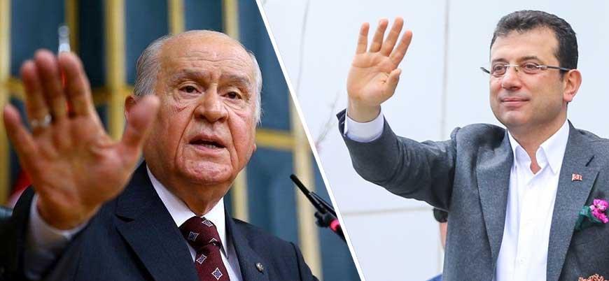 Bahçeli: Ekrem İmamoğlu'ndan belediye başkanı olmaz