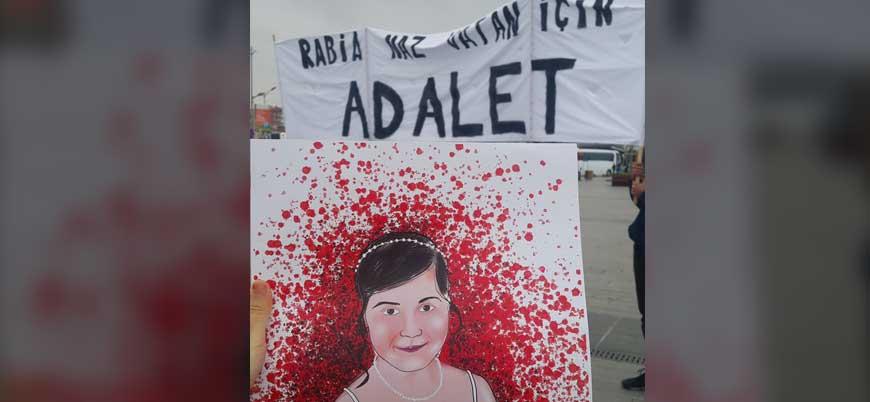 İstanbul'da 'Rabia Naz için adalet' eylemi