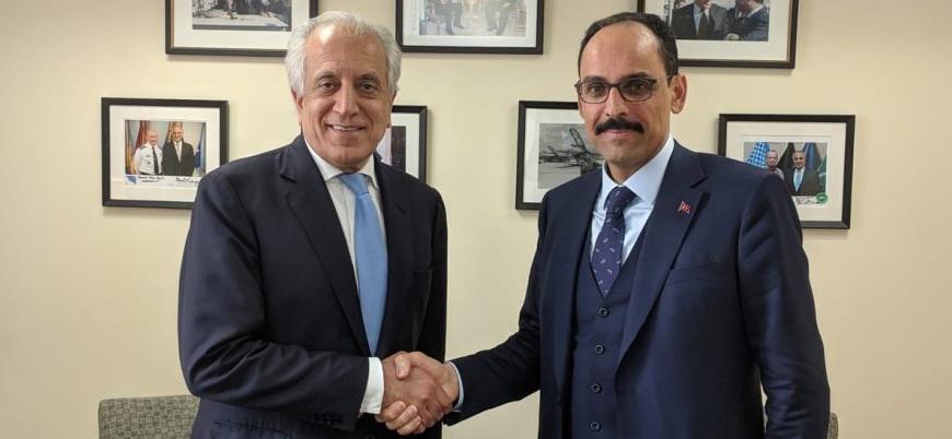 ABD'nin Afganistan temsilcisi Halilzad İbrahim Kalın ile buluştu