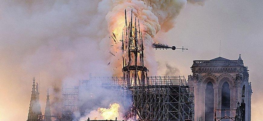 YouTube Notre Dame yangınını 11 Eylül saldırısıyla eşleştirdi