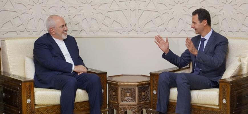 İran Dışişleri Bakanı Zarif Şam'da Esed ile görüştü