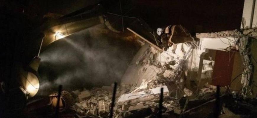 İsrail bir Filistinlinin evini yıktı