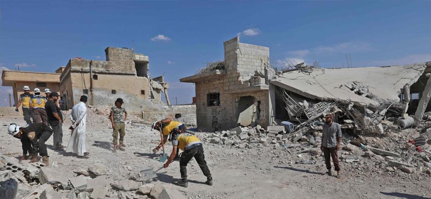 Esed rejimi İdlib'de sivilleri vurdu: En az 7 ölü