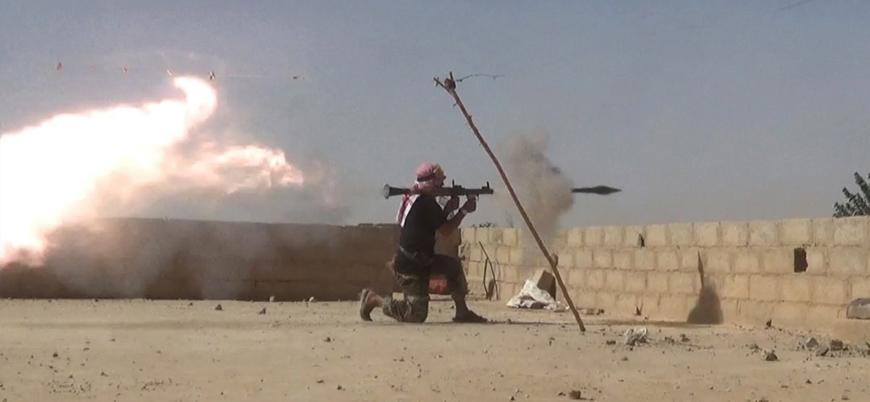 Suriye'nin doğusunda yenilen IŞİD gözünü çöle dikti