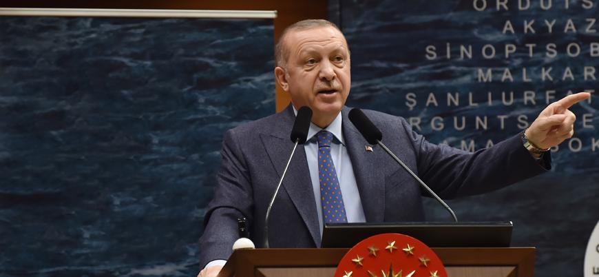 Seçim tartışmalarıyla ilgili konuşan Erdoğan ekonomiyi işaret etti