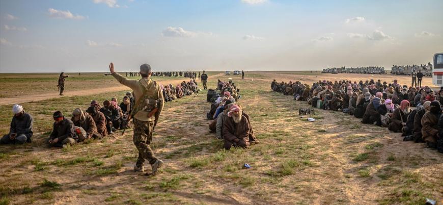 Suriye'de IŞİD'e mensup 2 binden fazla 'yabancı savaşçı' YPG'nin elinde