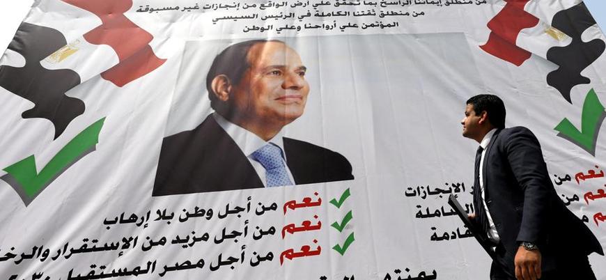 Sisi'nin 2030'a kadar iktidarı öngörülüyor: Mısır referandum için sandık başında
