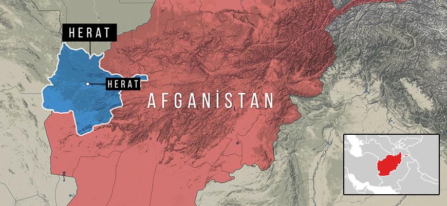 Afganistan'ın Herat şehrinde Taliban Kabil hükümeti merkezine saldırdı