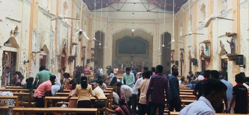 Sri Lanka'da kilise ve otellerde patlama: 180'den fazla ölü
