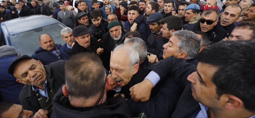 CHP lideri Kılıçdaroğlu saldırıya uğradı