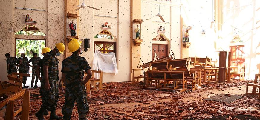 Sri Lanka hükümeti bombalı saldırı gerçekleştiren örgütü açıkladı