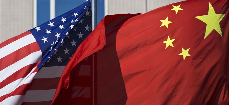 Çin'den ABD'ye 'İran' resti