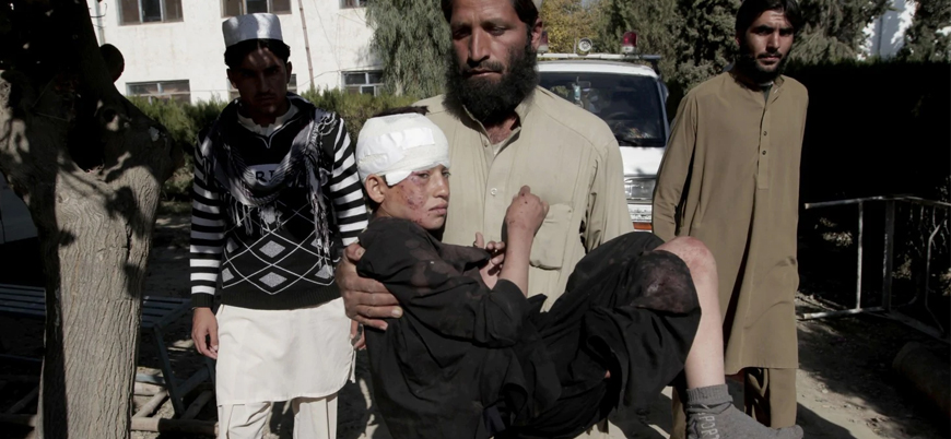 ABD Afganistan'da sivillerin bulunduğu aracı vurdu: 8'i çocuk 11 ölü