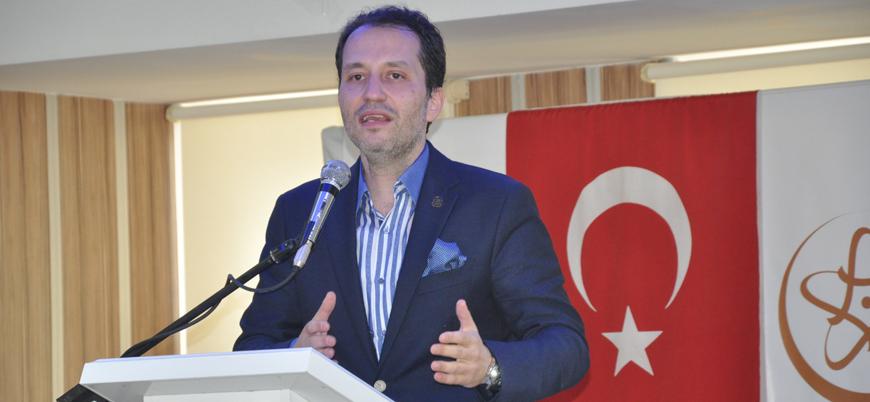 Fatih Erbakan Saadet Partisi'ni İncil ve Tevrat üzerinden eleştirdi