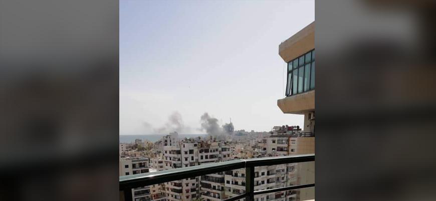 Suriye'de Esed rejimi kontrolündeki Lazkiye kentinde patlama