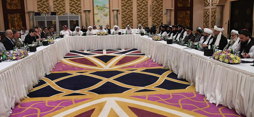 Afganistan barış görüşmeleri sürüyor: BM ile Taliban bir araya geldi