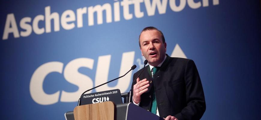 Weber: Türkiye ile AB müzakereleri sonlandırılmalı