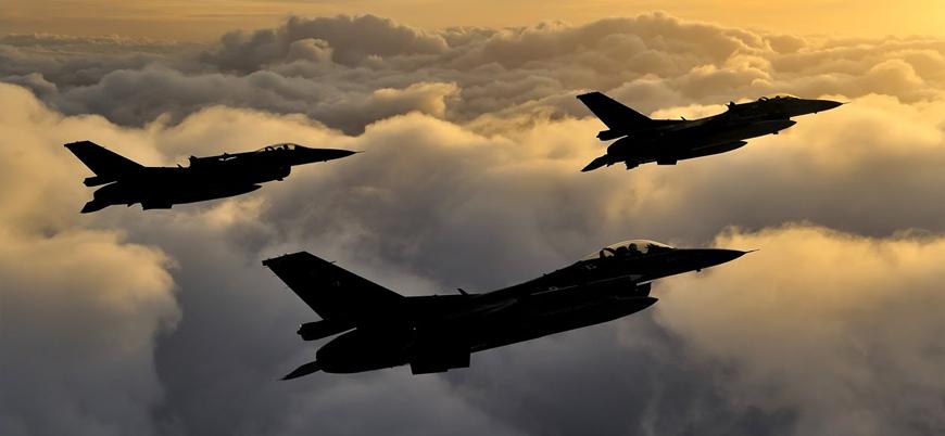 Irak'ın kuzeyine PKK'ya yönelik hava harekatı