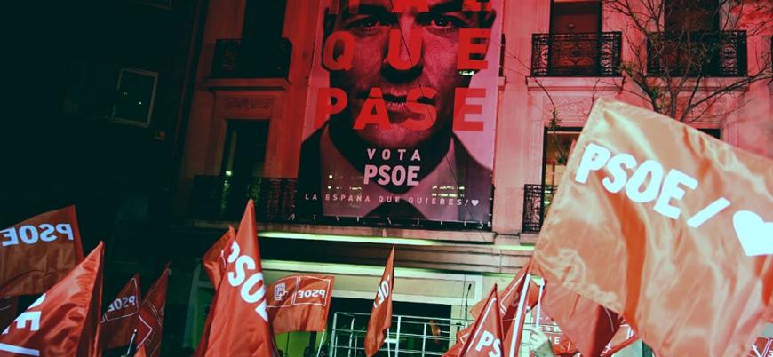 İspanya'da seçimleri Sosyalist Parti kazandı
