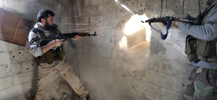Muhaliflerden Hama'da Esed rejimine saldırı