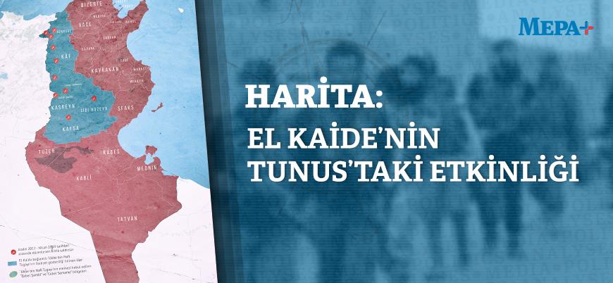 Harita | El Kaide'nin Tunus'taki etkinliği