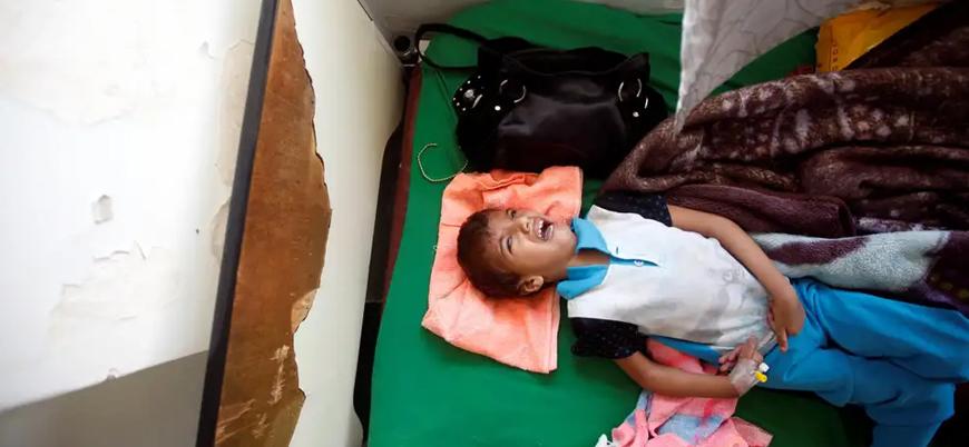 Yemen'de bu yıl 100 binden fazla çocuk koleraya yakalandı