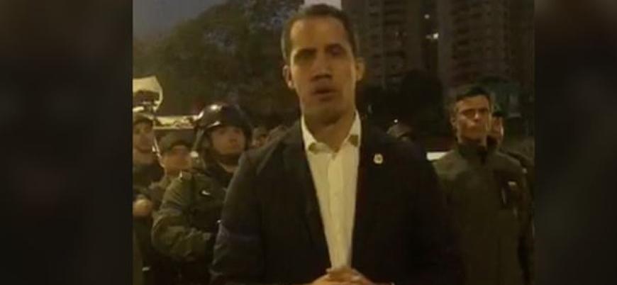 """""""Venezuela'da yeni bir darbe girişimi başladı"""""""