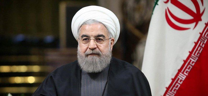 Ruhani: ABD yaptırımlarına rağmen petrol ihracatına devam edeceğiz