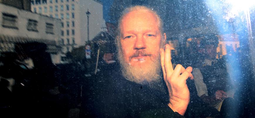 Julian Assange'a verilen ilk ceza belli oldu