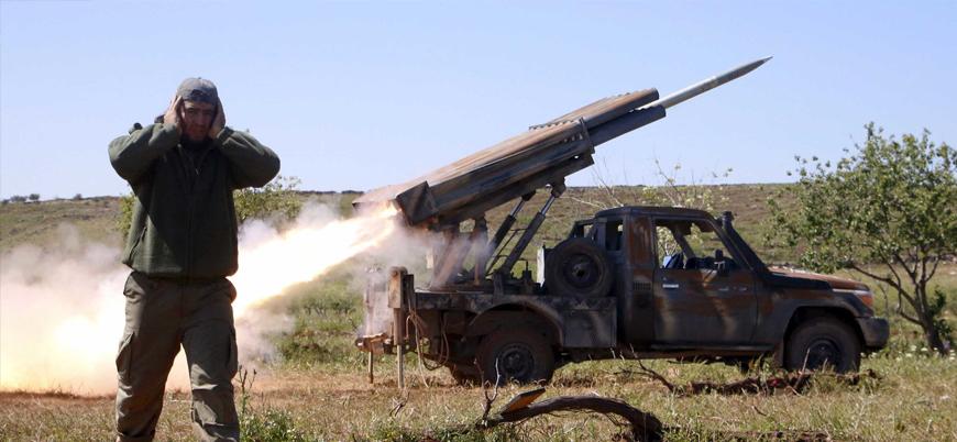 HTŞ Suriye'de Rusya'nın Hmeymim Üssü'nü Grad füzeleriyle vurdu