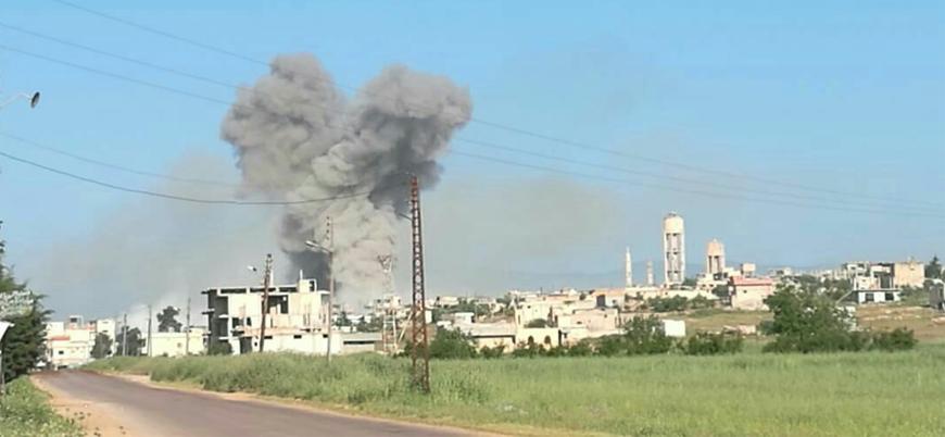 Rusya İdlib'i ağır şekilde vuruyor: Bölgede Cuma namazları iptal edildi