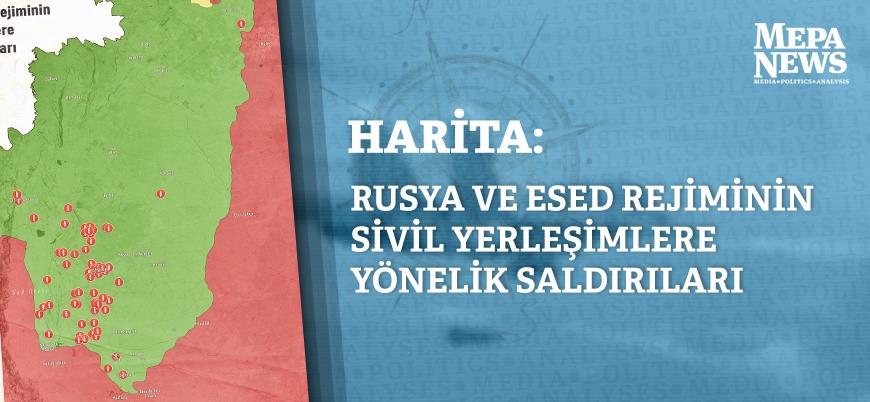 Rusya ve Esed rejimi sivilleri vurmayı sürdürüyor