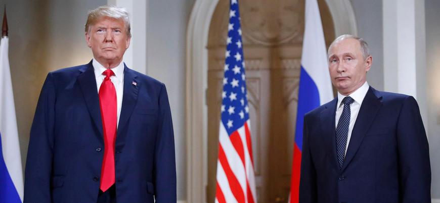 Trump'tan Putin'e füze anlaşmazlığını çözmek için mektup