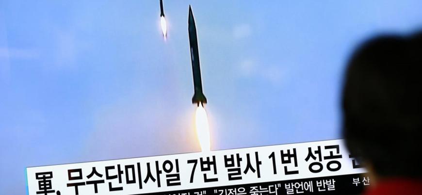 Kuzey Kore birden fazla kısa menzilli füze ateşledi