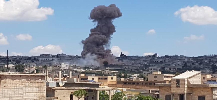 Esed rejimi ve Rusya İdlib'e yönelik hava saldırılarını yoğunlaştırdı