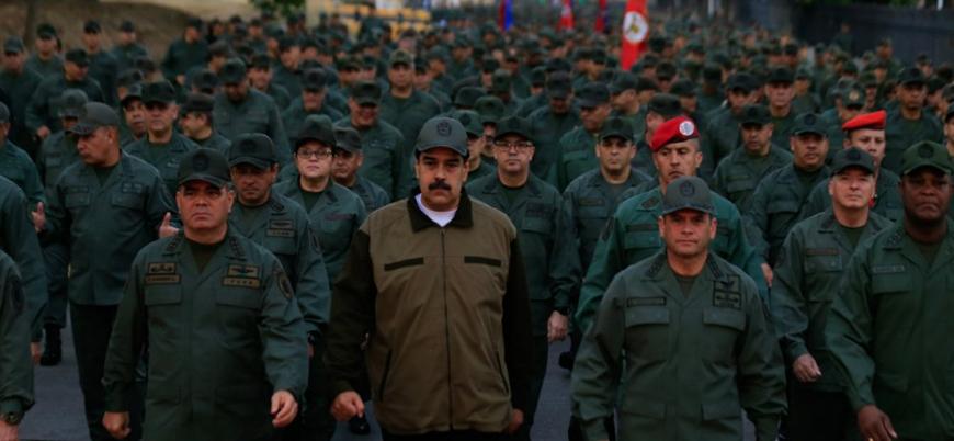 Maduro'dan orduya 'ABD işgaline hazır olma' çağrısı