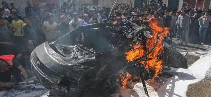 İsrail Hamas komutanı Hamid Hudri'yi vurdu