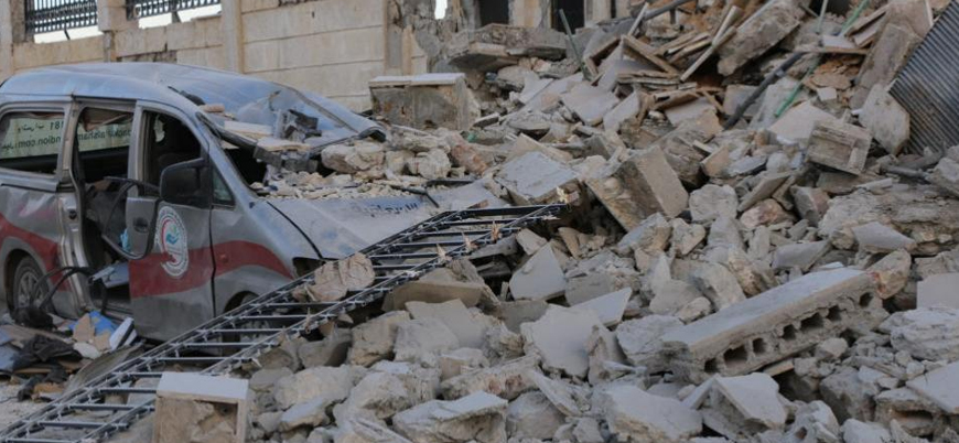 Rusya İdlib'de hastaneleri vuruyor
