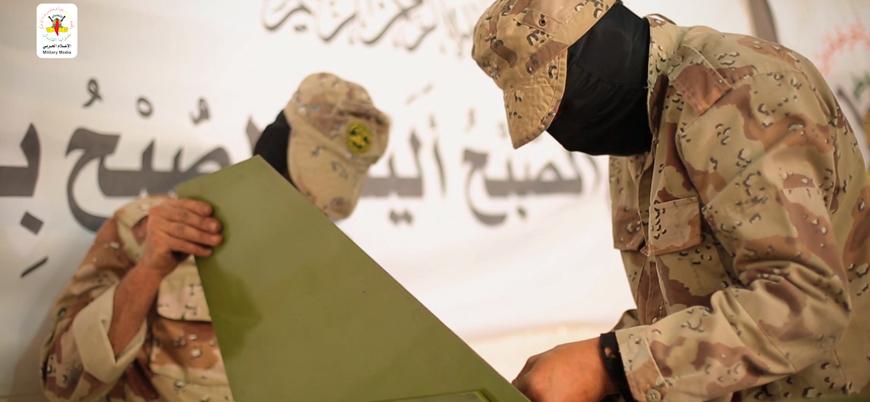 """İslami Cihad Hareketi """"Bedir-3"""" isimli yeni füzesini İsrail'e karşı ilk kez kullandı"""