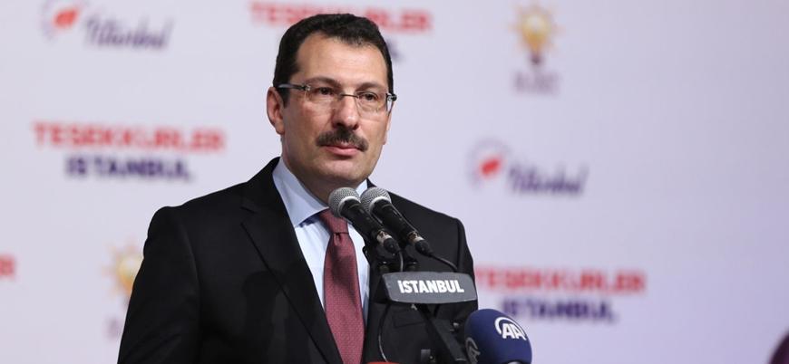 AK Partili Yavuz: Raydan çıkan bir şey YSK kararı ile raya alındı
