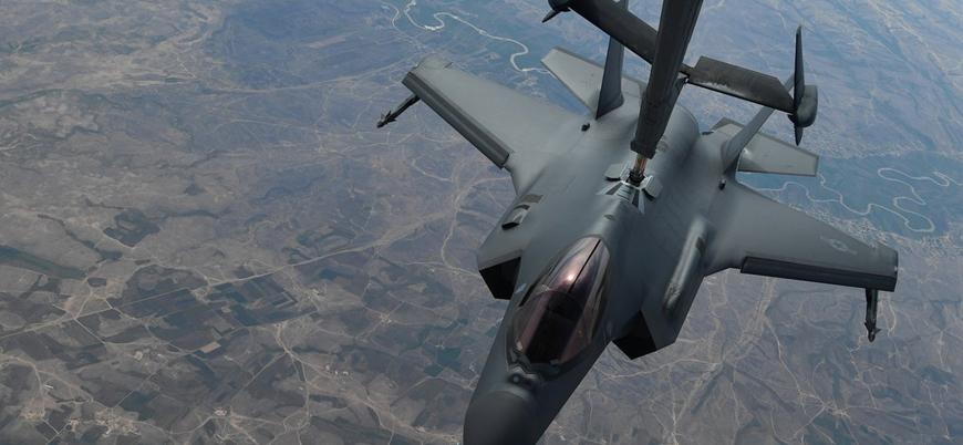 ABD F-35'leri Suriye'de göreve başladı